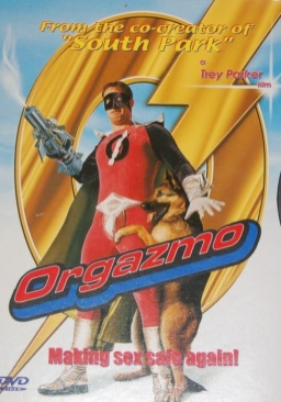 Orgazmo - DVD cover