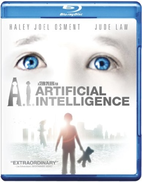 AI: Artificial Intelligence - Blu-ray cover