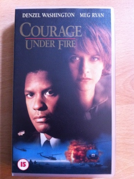 Courage Under Fire - VHS cover