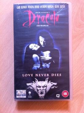 Bram Stoker's Dracula - VHS cover