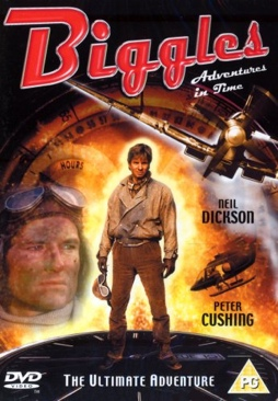 Biggles: Adventures In Time - DVD cover
