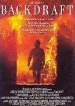 Backdraft - Laser Disc cover