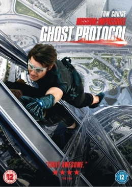 Mission: Impossible - Ghost Protocol - DVD cover