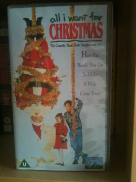 All I Want for Christmas - VHS cover