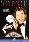 Scrooged - DVD cover