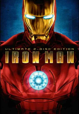 Marvels Iron Man - DVD cover