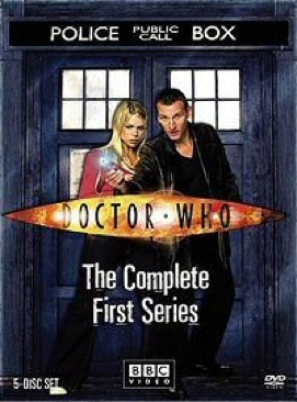 Doctor Who - DVD cover