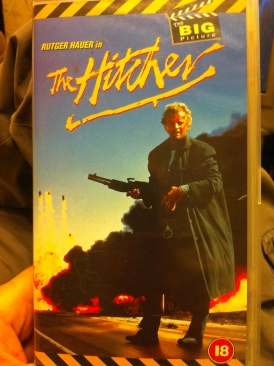 The Hitcher - VHS cover