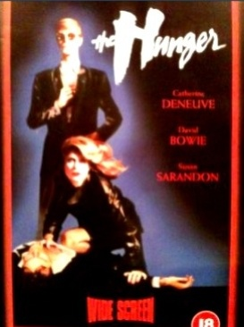 The Hunger - VHS cover