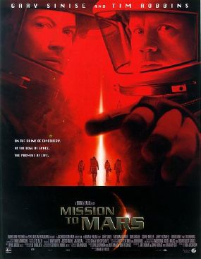 Mission to Mars - DVD cover