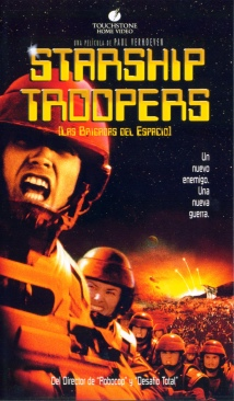 Starship Troopers - VHS cover