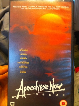 Apocalypse Now - VHS cover