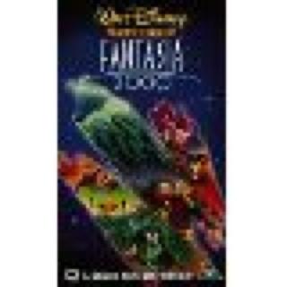 Fantasia 2000 - VHS cover