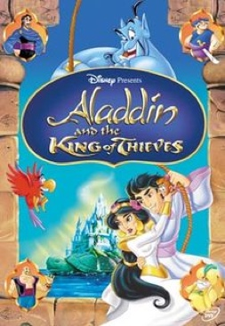 Aladdin and the King of Thieves - DVD cover