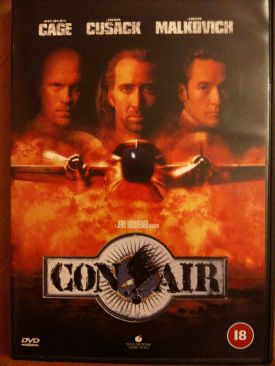 Con Air - DVD cover