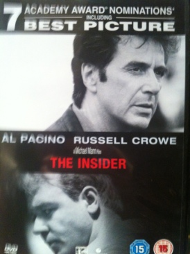 The Insider - DVD cover
