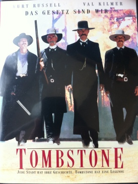 Tombstone - VHS cover