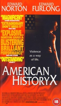 American History X - VHS cover