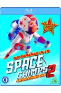 Space Chimps 2 - Blu-ray cover