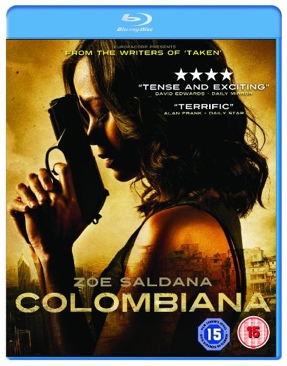 Colombiana - Blu-ray cover