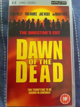 Dawn of the Dead - UMD cover