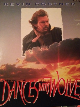Dances with Wolves - Laser Disc cover