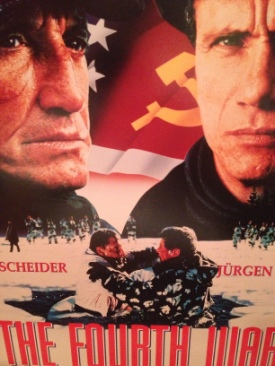 The Fourth War - Laser Disc cover