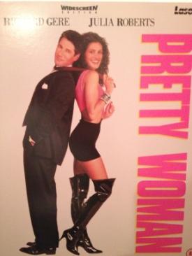 Pretty Woman - Laser Disc cover