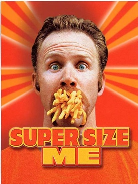 Super Size Me - DVD cover