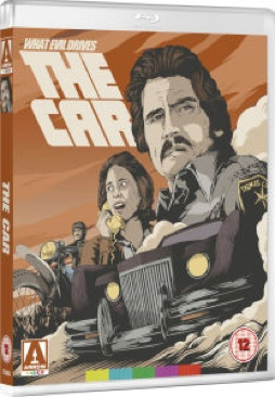 The Car - Blu-ray cover
