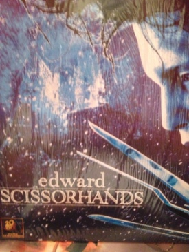 Edward Scissorhands - Laser Disc cover