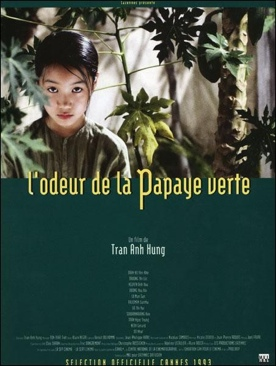 The Scent Of Green Papaya - DVD cover