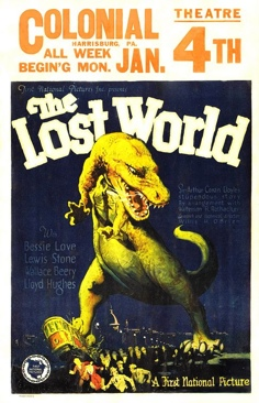 The Lost World - DVD cover