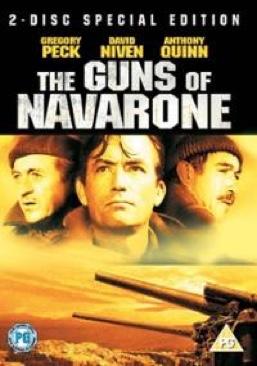 The Guns of Navarone - Video CD cover