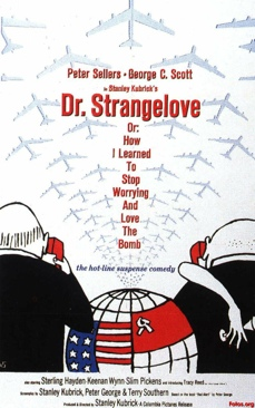 Dr. Strangelove or How I Learned to Stop Worrying and Love the Bomb - DVD cover