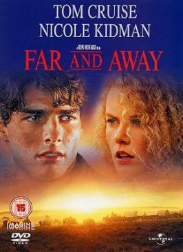 Far and Away - VHS cover