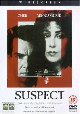 Suspect - DVD cover