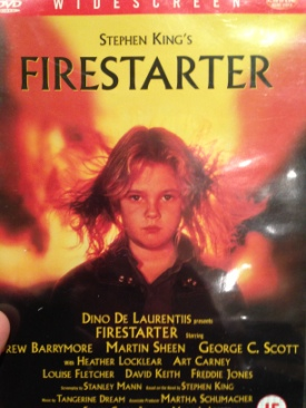 Firestarter - Blu-ray cover