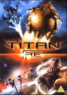 Titan A.E. - DVD cover
