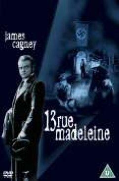 13 Rue Madeleine - DVD cover