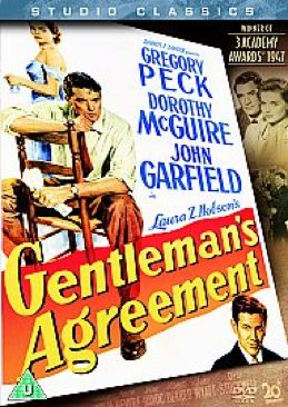 Gentleman's Agreement - DVD cover