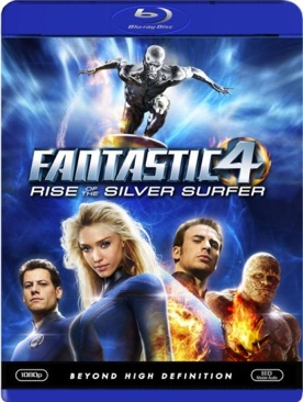 Fantastic 4: Rise of the Silver Surfer - Blu-ray cover