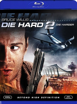 Die Hard 2 - Blu-ray cover