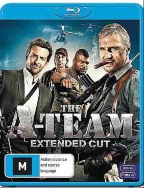 The A-Team - Blu-ray cover