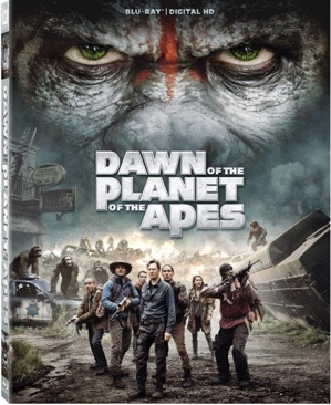 Planet Of The Apes: Dawn - DVD cover