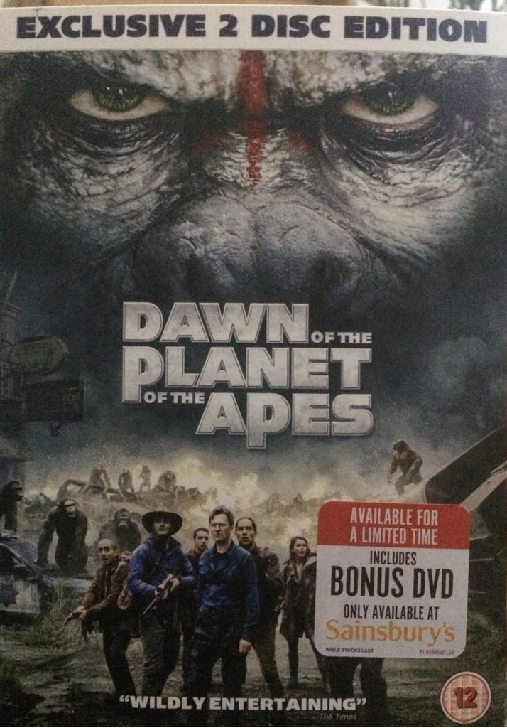 Dawn Of The Planet Of The Apes -  cover