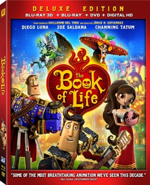 The Book Of Life 3D -  cover