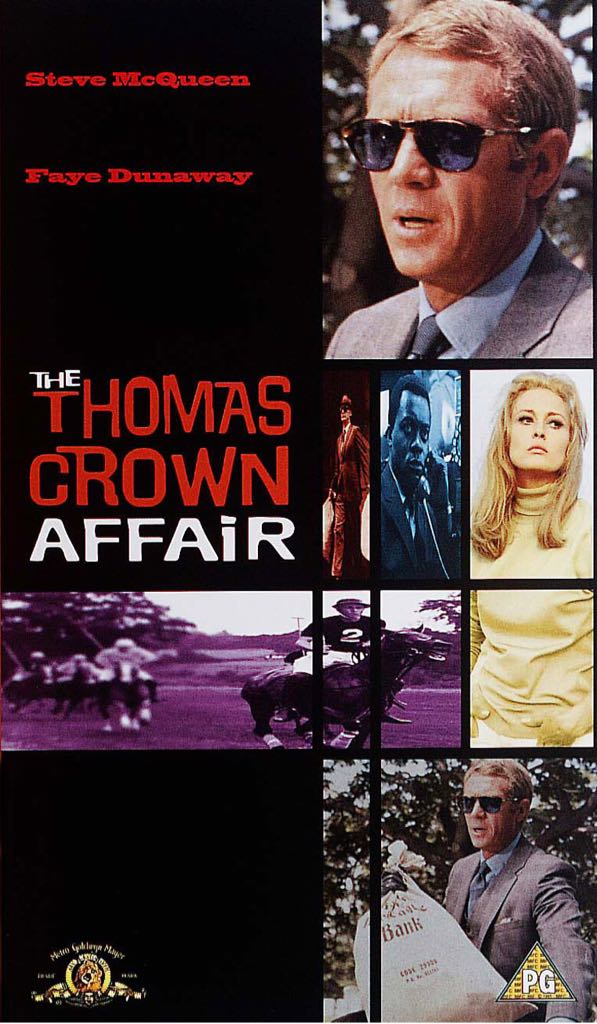 The Thomas Crown Affair -  cover