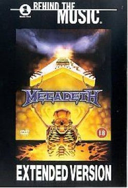 Megadeath: Behind The Music - DVD cover