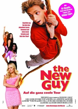 The New Guy - VHS cover